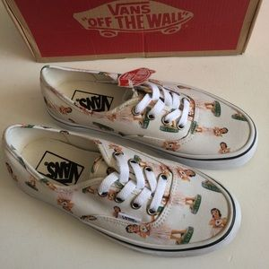 NWT Vans Authentic Hula Girl Shoes